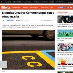Licencias Creative Commons qué son y cómo usarlas
