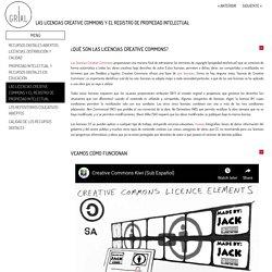 Las licencias Creative Commons y el registro de propiedad intelectual