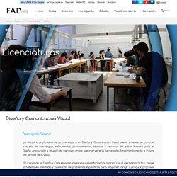 Licenciatura Diseño y Comunicación Visual \ Facultad de Artes y Diseño