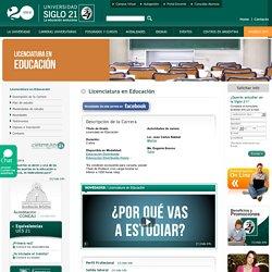 Licenciatura en Educación - Carreras Cortas - Universidad Siglo 21