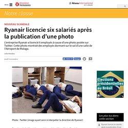 Ryanair licencie six salariés après la publication d'une photo
