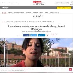 VIDEO. Licenciée enceinte, une vendeuse de Mango émeut l'Espagne