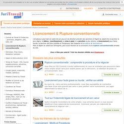 Licenciement - 1er site en Droit du Travail et Licenciement