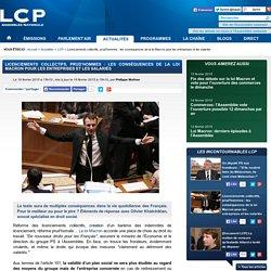 Licenciements collectifs, prud'hommes: les conséquences de la loi Macron pour les entreprises et les salariés