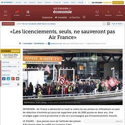 «Les licenciements, seuls, ne sauveront pas Air France»
