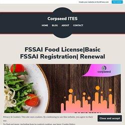 Basic FSSAI Registration