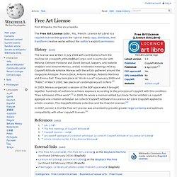 Free Art License