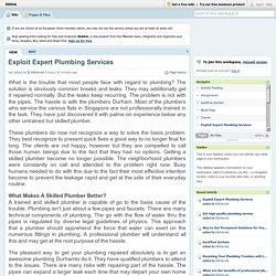 Exploit Expert Plumbing Services