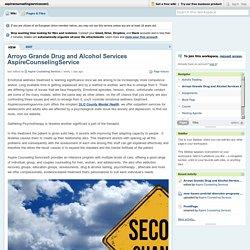 Arroyo Grande Drug and Alcohol Services AspireCounselingService