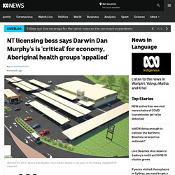 NT licensing boss says Darwin Dan Murphy's is 'critical' for economy, Aboriginal health groups 'appalled'