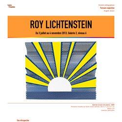 Roy Lichtenstein - Centre Pompidou, 2013