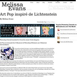 Art Pop inspiré de Lichtenstein French Photoshop Tutorial