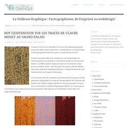 Roy Lichtenstein sur les traces de Claude Monet au grand palais