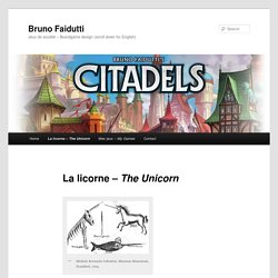 La licorne – The Unicorn