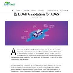 LiDAR Annotation for ADAS - NextWealth