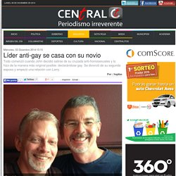 Líder anti-gay se casa con su novio