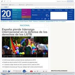 España pierde liderazgo internacional en la defensa de los derechos de los LGTB