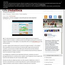 Lidiatext: creare mappe concettuali da testi digitali