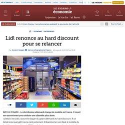 Lidl renonce au hard discount pour se relancer