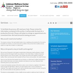 Liebman Wellness Center in Marlton, New Jersey