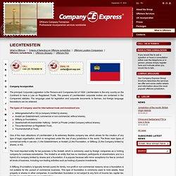 Liechtenstein Company Formation | Company Express