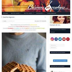 Gaufres liégoises - Cuisinons En Couleurs