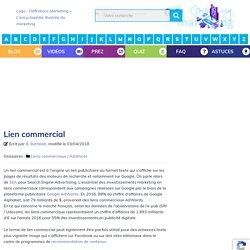 Lien commercial - Définitions Marketing