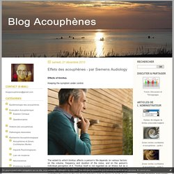 lien-vie-moderne : Acouphènes