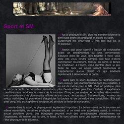Sports et BDSM - Liens-Secrets Vivre une relation BDSM