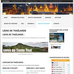 Liens de Thaïlande - Spécial Thaïlande
