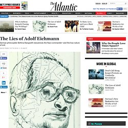The Lies of Adolf Eichmann