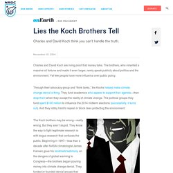Lies the Koch Brothers Tell