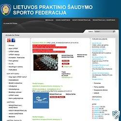 Temų NPŠA forumas (1/1) - NPŠA Forumas - Nacionalinė Praktinio Šaudymo Asociacija