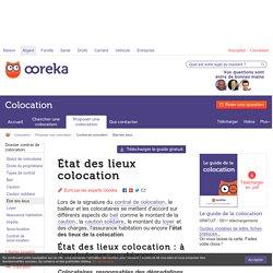 Etat des lieux colocation : infos - Ooreka
