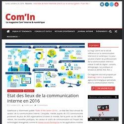 Etat des lieux de la communication interne en 2016
