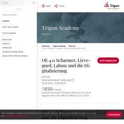 OE 4.0 Scharmer, Lievegoed, Laloux und die Digitalisierung