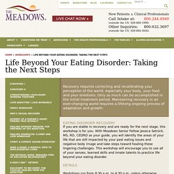 Life After Eating Disorders