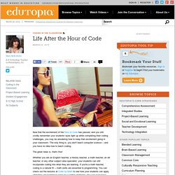 Life After the Hour of Code