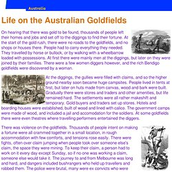Life on the Australian Goldfields