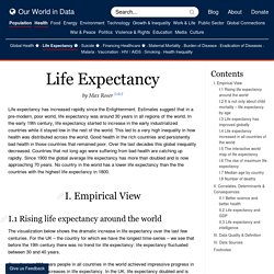 Life Expectancy - Our World In Data