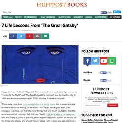 7 Life Lessons From 'The Great Gatsby'