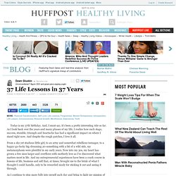 37 Life Lessons in 37 Years