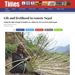 Life and livelihood in remote Nepal