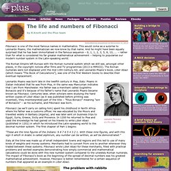 The life and numbers of Fibonacci