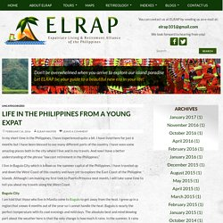 Life in the Philippines from a Young Expat