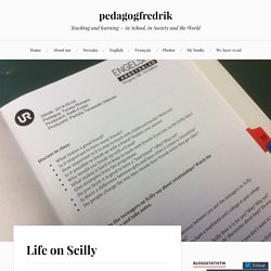 Life on Scilly – pedagogfredrik