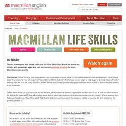 The Life Skills Day - Macmillan English