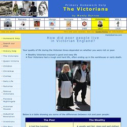 Life in Victorian Britain - the poor