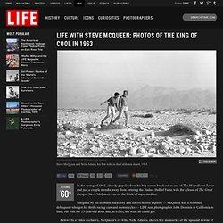 Steve McQueen: Unpublished Photos