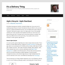 Agile Lifecycle / Agile Heartbeat